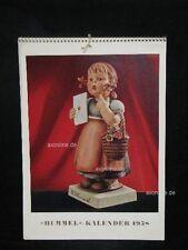 "Goebel Hummel Kalender Calendar 1958, Titel ""Die Gratulantin"""