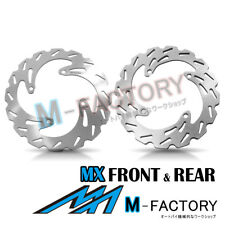 Brake Disc MX Front Rear Set Fit KAWASAKI KX 450F 06-14 07 08 09 10 11 12 13