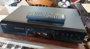 SONY MDS-JE470 Mini Disc Deck with remote - Serviced Excellent condition