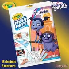 Crayola Disney Vampirina Color Wonder libro para Colorear Mágico sin lío Set
