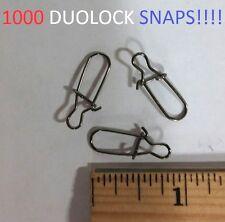 1000 Eagle Claw Sz.4 Black Duolock Snaps (01172M-004) EB160102