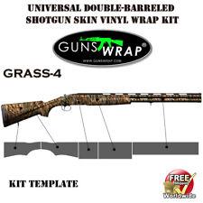 Shotgun sports vertical double barrel skins 149 patterns GunsWrap camo for gun