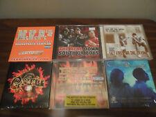 CD Lot of 6 RAP CD's Dead Prez BEST OF THE SOUTH Crisis MVP'z Cultjah LOT 116