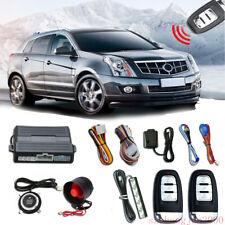 Universal Smart PKE Passive Keyless Entry Car Alarm System Engine Start Button