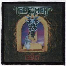 TESTAMENT PATCH / SPEED-THRASH-BLACK-DEATH METAL