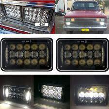 """2PCS CREE 4X6"""" 5D LED Headlights H4 Light DRL For Kenworth T800 T400 T600 W900B"""