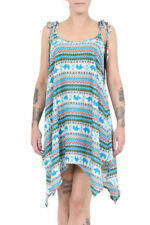 Rayon Boho Party Dresses for Women