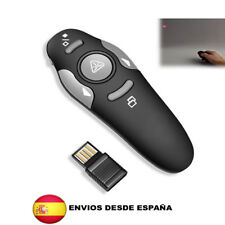 Puntero presentador inalambrico laser  2,4 GHz RF USB Control remoto PPT