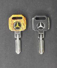 2BLANK KEYS Mercedes Benz FIT FOR W107 W124 W126 W129 W140 C E S SE SEC SL CLASS