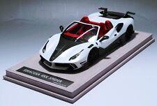 1/18 Ferrari 488 Siracusa 4XX Spider in White limited 30 pcs  N BBR or MR