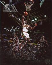 Shawn Kemp Autographed Seattle Supersonics 8x10 Photo - Panini VIP