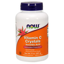 Vitamin C Crystals, Powder, 8oz (227g) - NOW Foods