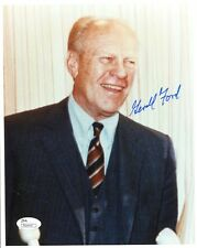 Gerald Ford Hand Signed 8x10 Color Photo Former Us President Jsa