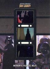 Star Wars Jedi Legacy TFR-9 Triple Authentic Film Cel Relic Card Darth Vader!