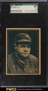 1931 W517 Strip Card Babe Ruth #20 SGC 5 EX