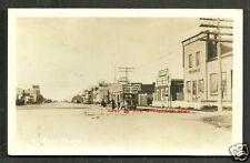 Ste Sainte Rose du Lac rppc Cars MB Manitoba Canada 1930