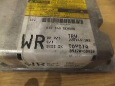 TOYOTA YARIS AIR BAG SRS ECU CONTROL MODULE UNIT  89170-0D410 #58/B50