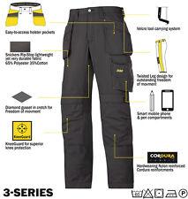Snickers 3213 Ripstop Pantaloni DIRECT nero da uomo abbigliamento lavoro