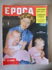 EPOCA n°143 1953 I telegrammi segreti di Mussolini Danny Kaye  [G770]