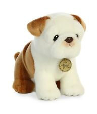 New Aurora Miyoni Soft Stuffed Plush Toy English Bulldog Animal Puppy Dog 10""