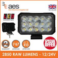 LED Autolamps High-Powered Rectangular Flood Lamp - 12/24V