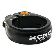 KCNC SC9 Abrazadera del asiento POST ALEACIÓN 7075, 31.8mm, Negro