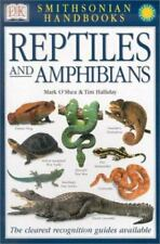 New listing Smithsonian Handbooks: Reptiles and Amphibians Mark O'Shea, Tim Halliday Flexib