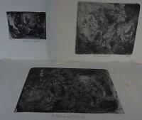 Drei Radierungen von 1978 Radierung/Aquatinta Mit Widmung, signiert und datiert