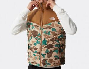 THE NORTH FACE Saikuru Down Vest Gilet Body Warmer Duck Camo M   Oakley Berghaus