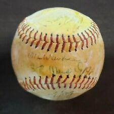 Stan Musial K. Boyer Curt Flood Signed 1963 St Louis Cardinals Team Baseball JSA