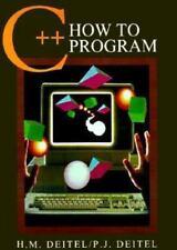 C++ How to Program (How to Program Series) by Deitel, Harvey M., Deitel, Paul J