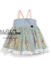 Girls Matilda Jane Platinum A Little Fancy Ellie Top size 8 EUC Tulle overlay