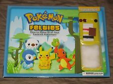 Pokemon Felties: How to Make 16 of Your Favorite Pokemon (Book) with Pikachu