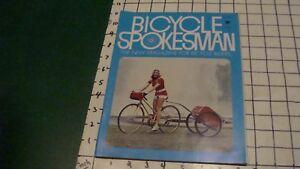 vintage Magazine: BICYCLE SPOKESMAN November 1972, 68pgs