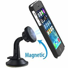 WizGear Universal Magnetic Car Mount Holder Windshield Dashboard for Cell Phones