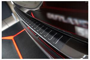 Edelstahl Ladekantenschutz Anthrazit für Mitsubishi Outlander 3 5 Jahre Garantie