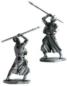 Pirate with a spear, XVII-XVIII cc. Tin toy soldier 54 mm. metal