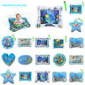Inflatable Water Mat DIY Baby Toddlers Mattress Splash Playmat Tummy Time Xmas