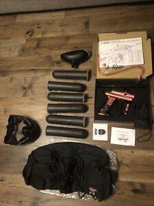 NEW AZODIN KAOS 3 LEGENDARY COMPLETE PAINTBALL GUN PACKAGE KIT - PINK/BLACK