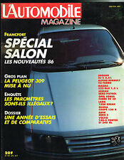 magazine automobile: L'automobile N°472 octobre 1985 salon