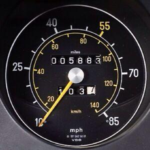 Mercedes Benz 280SL, 380SL, 560SL Speedometer & Odometer Gauge REPAIR SVC