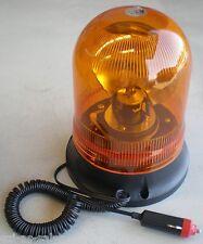 REVOLVING LIGHT ROTATING BEACON 12V QUARTZ HALOGEN 35W MAGNETIC OR SCREW ON BASE