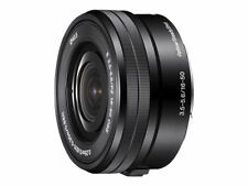 Sony SELP1650 E PZ 16–50mm f/3.5–5.6 OSS Telephoto Lens