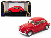 New 1/43 Scale Red 1962 Volkswagen VW Beetle Coupe for MTH,K-Line & Lionel