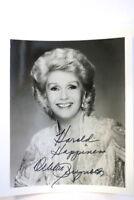 Debbie Reynolds Autogrammkarte Autograph