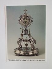 The Eucharistic Miracle of Lanciano Prayer Card, from Italy, New (1)