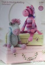 Stylecraft DK Toy Knitting pattern stable mates horse hat 9354