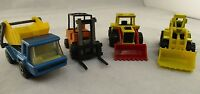 Vintage Matchbox & Mattel Cars Bundle  Construction 1980s Diecast Toy Car's Rare
