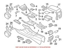 For BMW Genuine Console Lid Front 51169204246