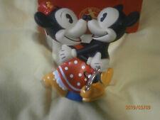 New listing Dancing Mickey & Minnie Mouse Wind Up Toy Walt Disney Box Schylling Retro Figure